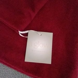 a:glow Sweaters - Red Maternity Shirt/Light sweater